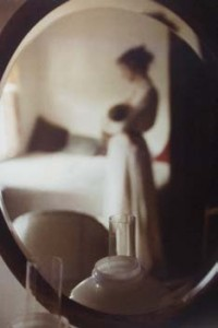 Mother and Child année 1950 © Saul Leiter. Courtesy Howard Greenberg gallery.