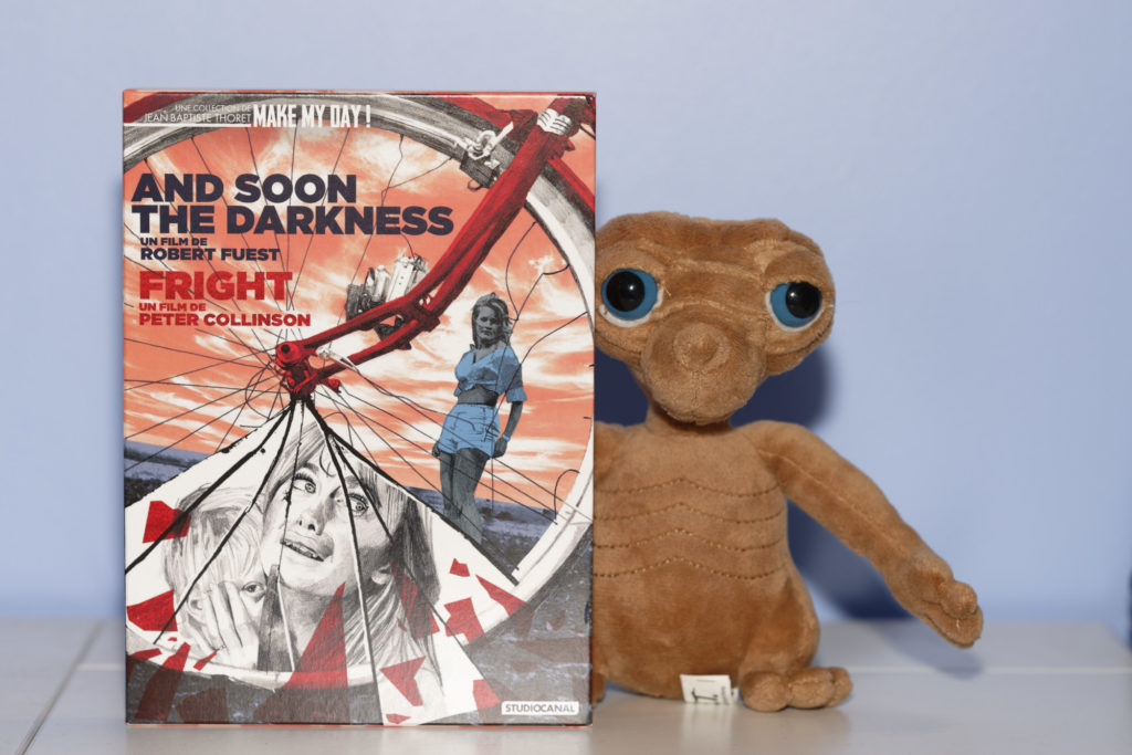 Coffret Make My Day de Jean-Thoret. Studio Canal. Bright et And Soon The Darkness.