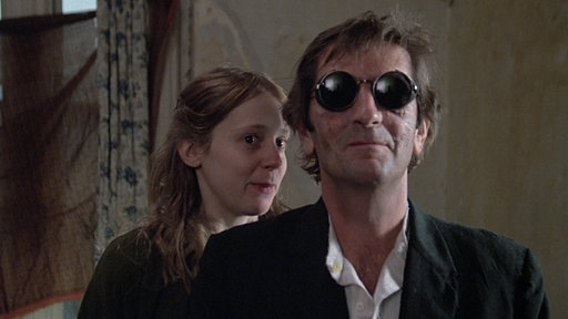 Sabbath Lilith (Amy Wright) et Asa Hawks ( Harry Dean Stanton) dans Le Malin de John Huston