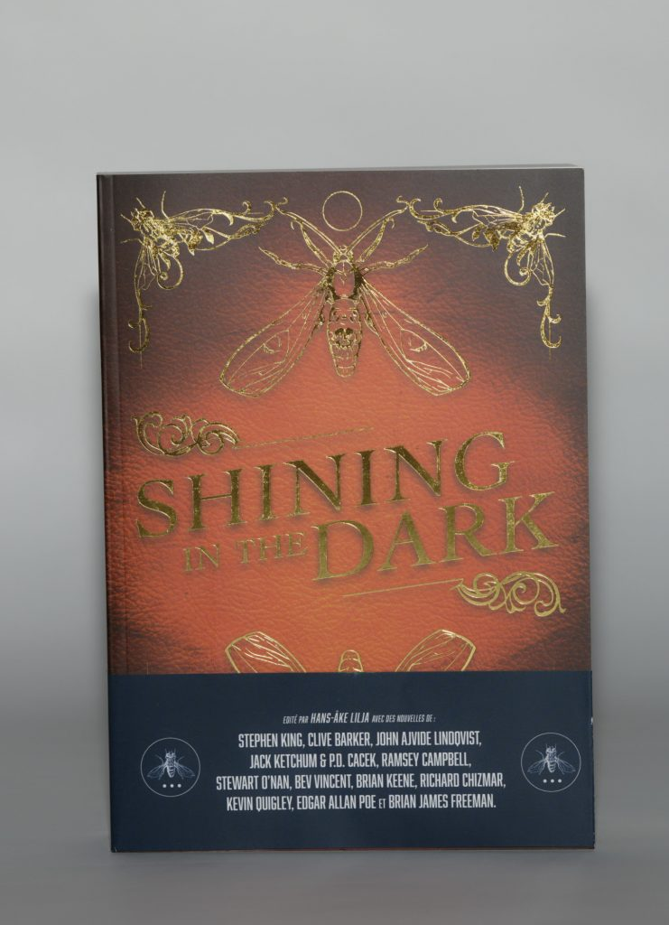 Anthologie Shining in the dark. Éditions Actusf. Photo Philippe Lim
